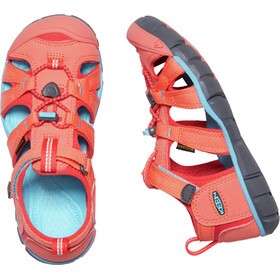 Keen Seacamp II CNX Sandals Barn coral/poppy red